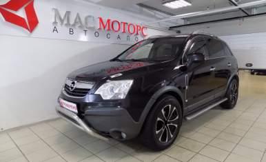 Opel Antara Черный